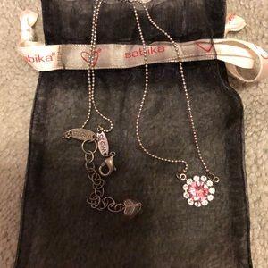 Sabika Breata cancer limited edition necklace
